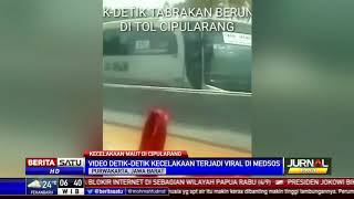 Video Detik-Detik Kecelakaan Maut di Cipularang
