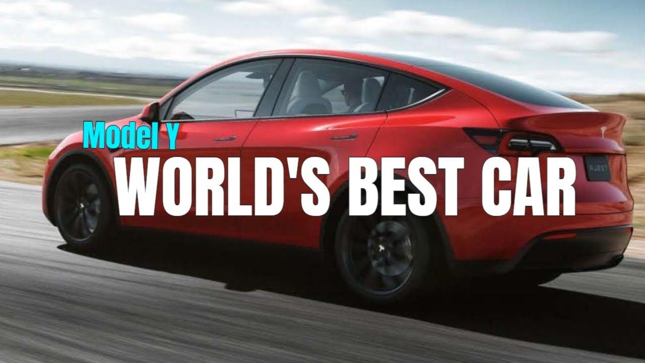 Tesla Model Y - PRAISES BY WALLSTREET JOURNAL [World's Best Car]