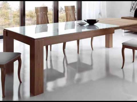 mesas y sillas de comedor  YouTube