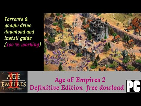 Age OF Empires 2 : Definitive Edition PC [FREE DOWNLOAD] || Torents || Google Drive Links