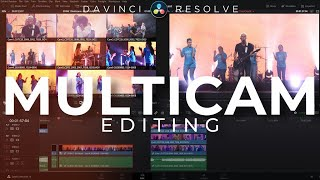 Easy MultiCam Editing In Davinci Resolve 16