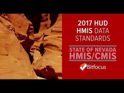 Nevada CMIS: 2017 HUD HMIS Data Standards Changes