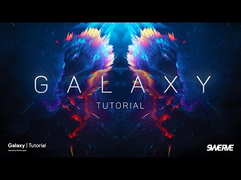 Photoshop Tutorial   Abstract Galaxy by Swerve®