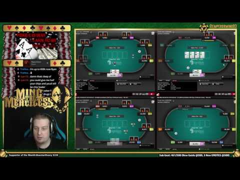 How to Bluffcatch w/Ace King in an Online Poker Tournament - Free Strategy