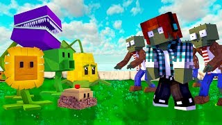 🔴 MINECRAFT MOD LIVE - PLANTS VS ZOMBIES NO MINECRAFT !!
