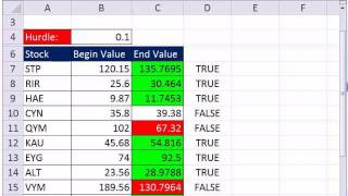 Mr Excel & Excelisfun Trick 95: Conditionally Format +/- 15% Change Arrows Or Logical Formula?