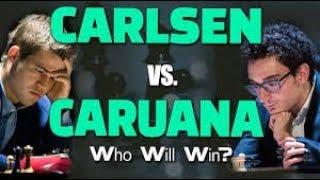 Game 1 - 2018 FIDE World Chess Championship | Magnus Carlsen Vs. Fabiano Caruana ( lichess.org )