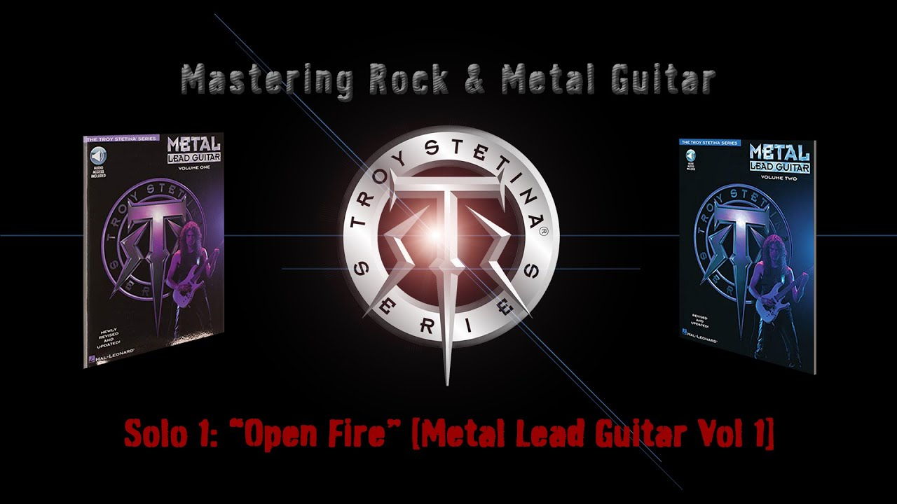 """Metal Lead Guitar Solo 1 """"Open Fire"""""""