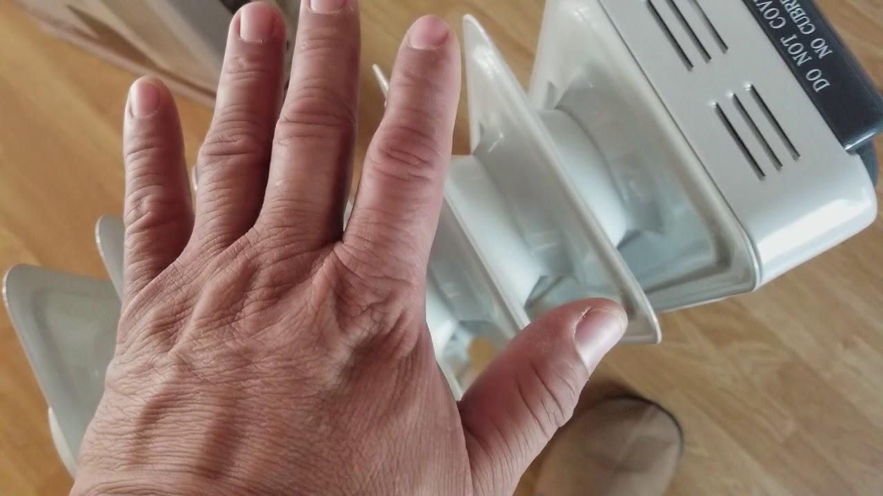 fa7d0435f8d SAI oil filled radiator heater 682101 - YouTube