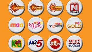 Telugu TV Shows, Gemini, Maa TV Serials - ChannelLive