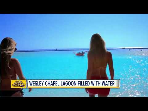 Wesley Chapel Lagoon filled with water