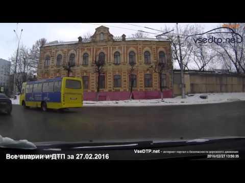 Дорожные войны - все аварии и ДТП за 27.02.2016
