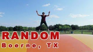 Random Beer Garden | Boerne, Tx | San Antonio Vlog