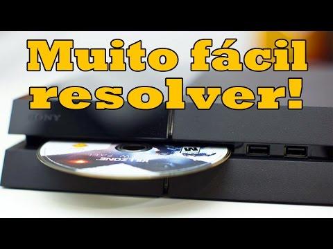 Jeito Fácil e Definitivo de Arrumar seu PS4 que Ejeta Disco Sozinho (playstation 4 ejetando disco)