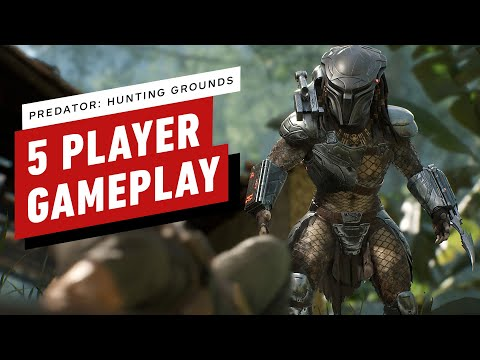 Predator: Hunting Grounds - 5 Player Gameplay