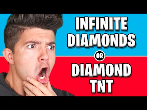 Ultimate DIAMOND Would You Rather vs MY WIFE! - Minecraft
