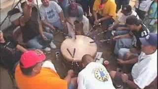 Numaga Days, Drums Part 1 of 3, Southern Cree @ Reno, Nevada. Native American Indian Powwow