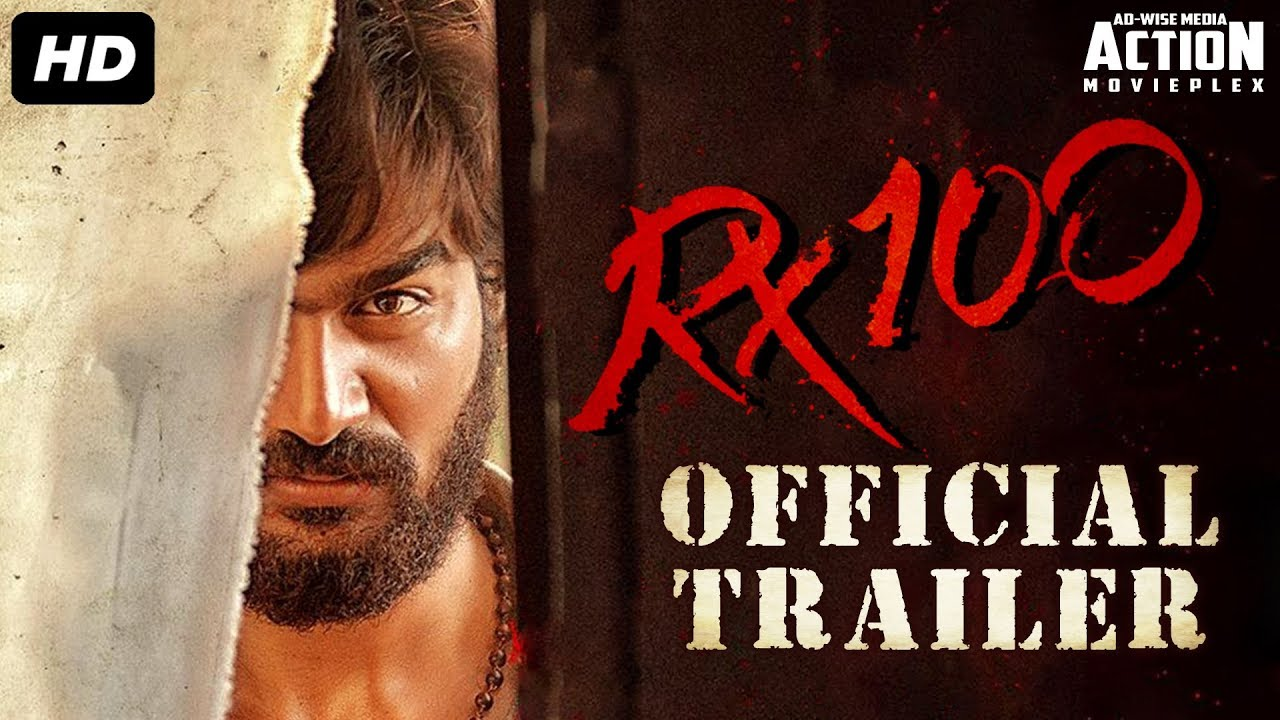 Download RX 100 Official Trailer - Superhit Hindi Dubbed Movie   Karthikeya   South Movie   Action Movie