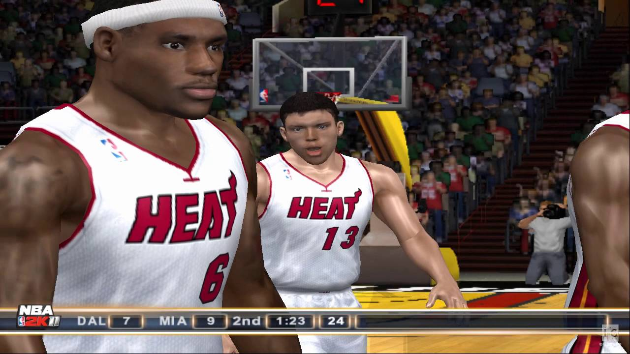 NBA 2K11 PS2 Gameplay HD - You...