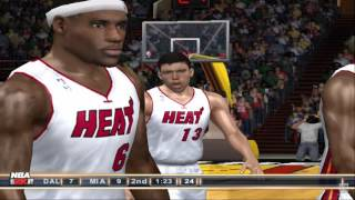 NBA 2K11 PS2 Gameplay HD