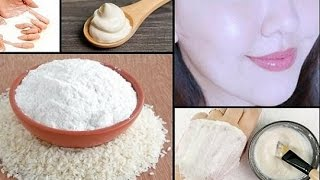 Rice anti aging face mask for 10 years younger skin !! Japanese Anti-Aging Secret