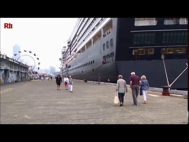 【RTI】Vídeo del día -  En alerta por el desembarco de turistas del crucero Westerdam