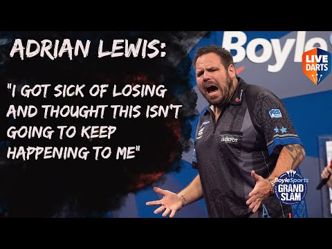 """Adrian Lewis: """"I got sick of losing and thought this isn't going to keep happening to me"""""""