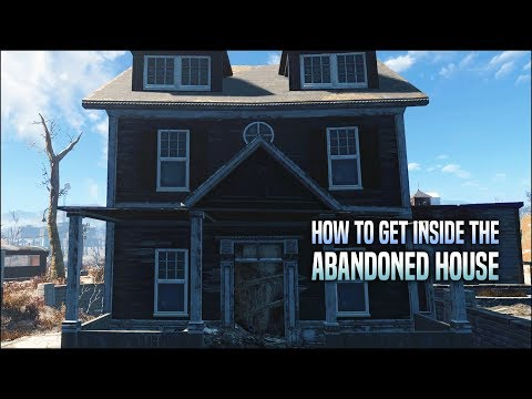 Getting Inside the Closed House in Jamaica Plain 🏚️ Fallout 4 No Mods Shop Class