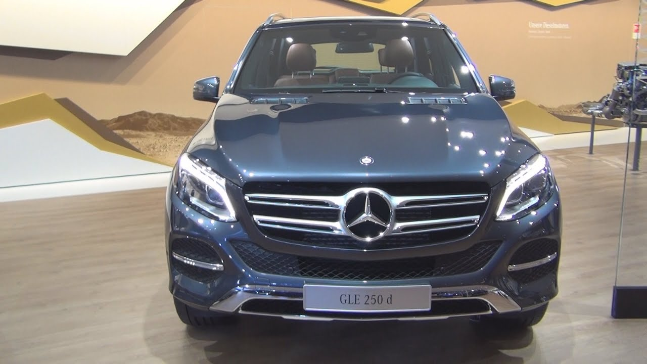mercedes benz gle 250 d 2016 exterior and interior in 3d youtube. Black Bedroom Furniture Sets. Home Design Ideas