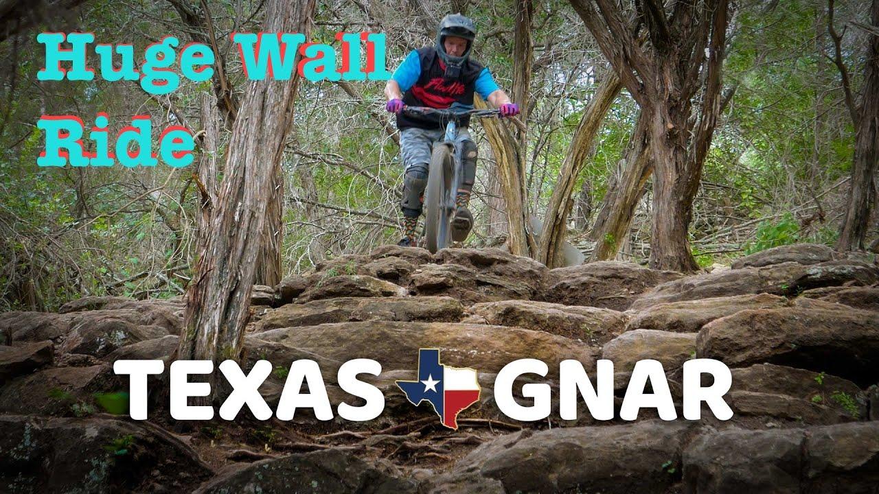 Texas Gnar at Spider Mountain Bike Park
