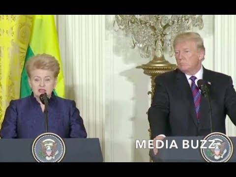President of Lithuania Says Trump's STRONG Leadership Has Be
