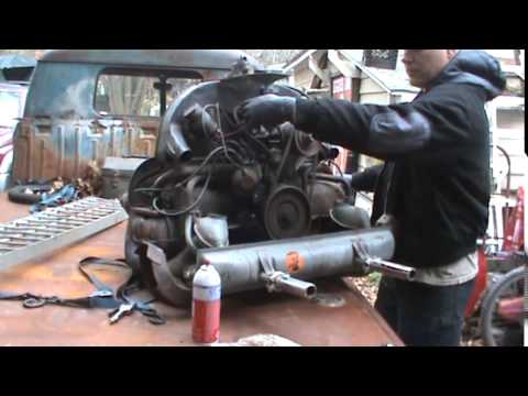 vw bus engine rescue and cold start,