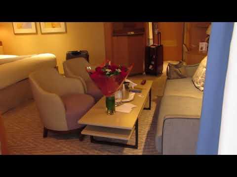 P&O Arcadia Rome Suite B76 after November 2017 Refit