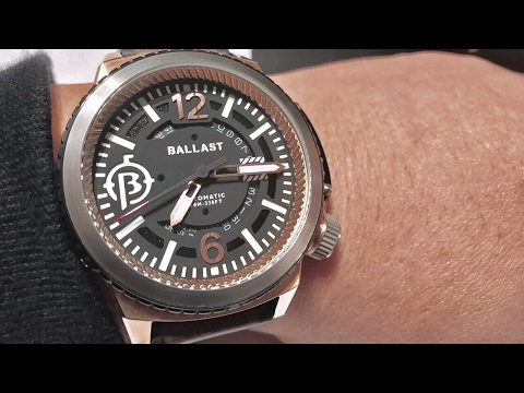 Ballast Trafalgar Automatic Watch with Unique Bezel System BL-3133-02 review and giveaway