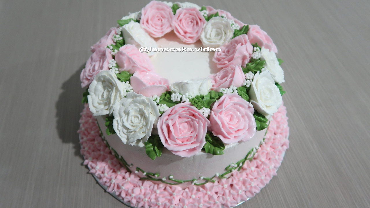 Birthday cake with flowers roses how to make birthday cake with flowers roses how to make izmirmasajfo