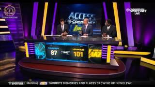 Jeremy Lin and Ed Davis - Access Sportsnet part 2