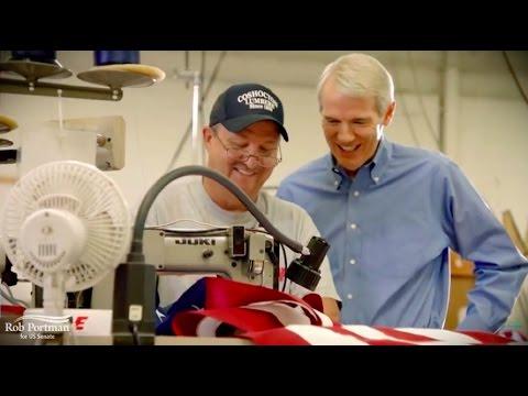 Flag Factory   Rob Portman for Senate