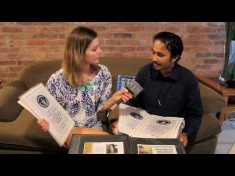 KATIE CHATS: SURESH JOACHIM, HOLDER OF 67 GUINNESS WORLD RECORDS, 07/12