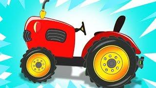 Kids Play Time Português | Rimas para crianças | Trator ca...