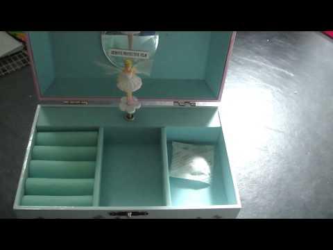 Fairy, Ballerina Jewlry Music Box