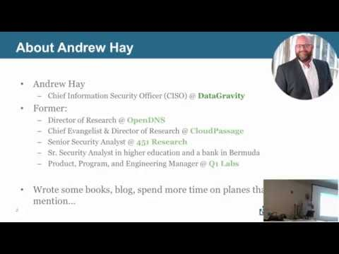 Bootstrapping A Security Research Project Andrew Hay
