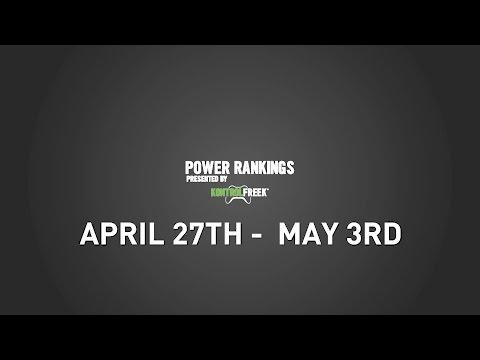 Caster Power Rankings, Presented by KontrolFreek (4/27-5/3)