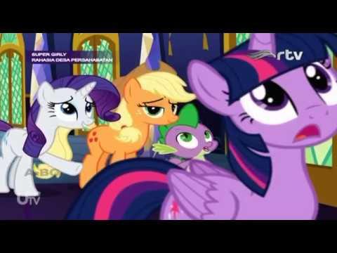 my little pony bahasa indonesia : menghias istana twilight part 4/4 - youtube