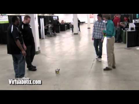 Robot Pong with the Versalino Rove! Colorado Springs Engineering Summit 2013