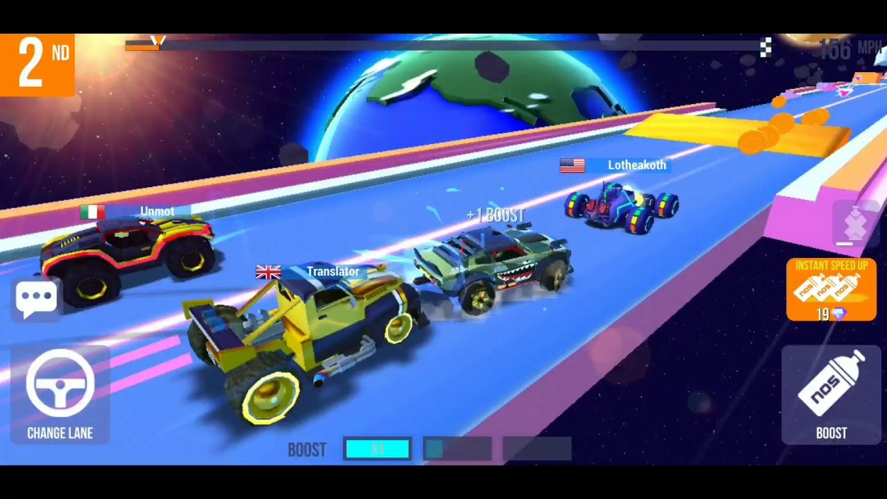 Sup multiplayer  racing gameplay rumble dec 29
