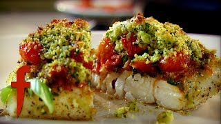 Herb Crusted Fillets of Cornish Brill | Gordon Ramsay's The F Word Season 4