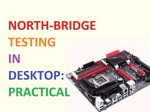[Eng]Advance Chip Level Motherboard Repairing: Lecture 16- North Bridge Testing in Desktop Practical