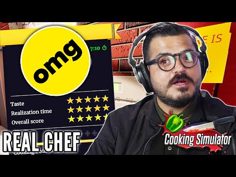Real Chef Plays Cooking Simulator