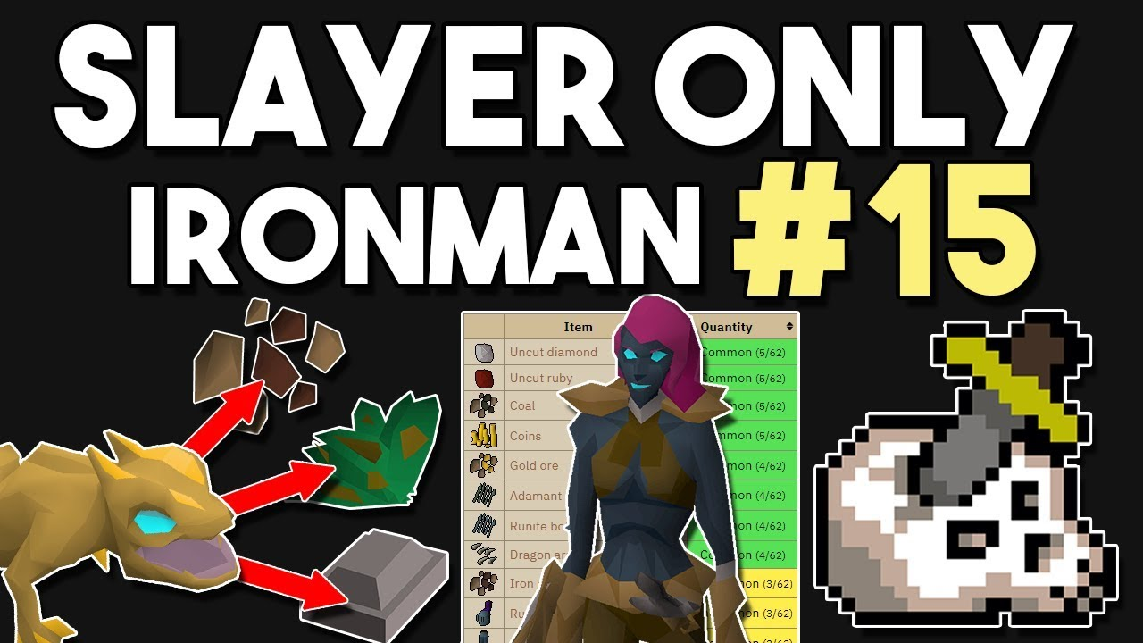 Konar Changes Everything for My Slayer Only Ironman! #15 - Slayer Only  Ironman [OSRS]