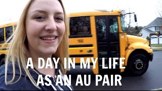 a day in my life as an au pair older kids   vivianinamerica